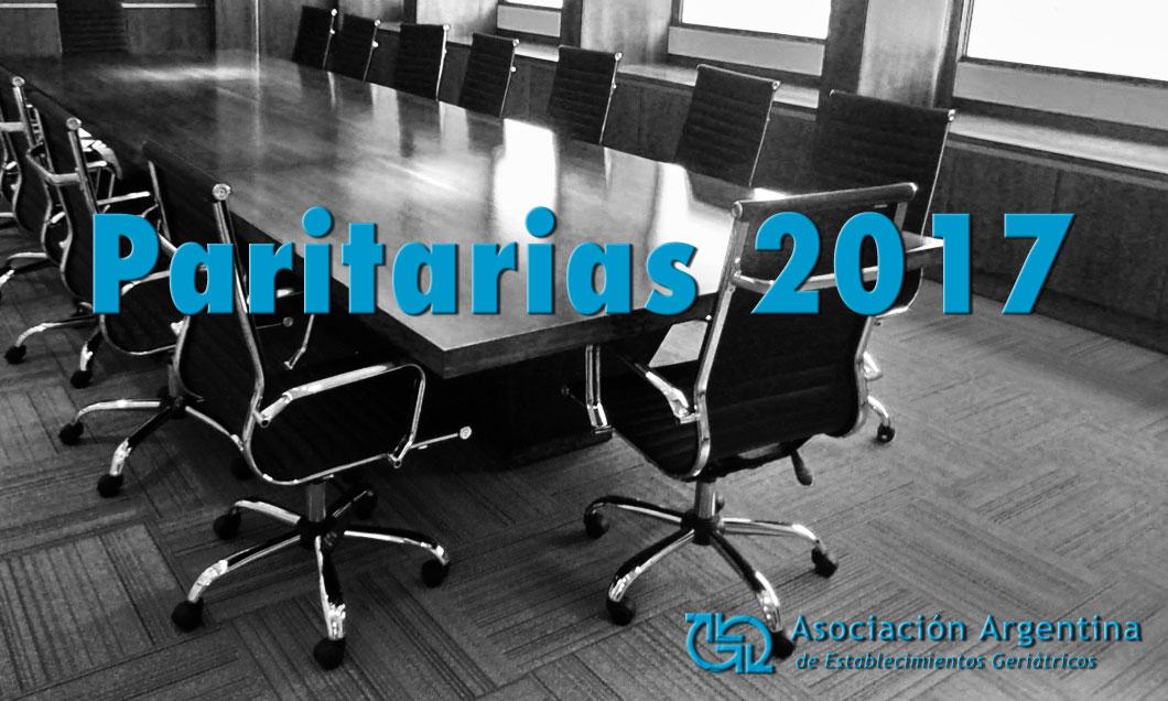 Paritarias 2017